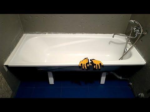 Наращивание ванны полкой из плитки. Качественная установка ванны. Ремонт ванной комнаты. Часть 7