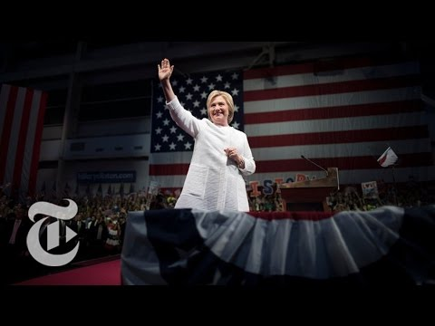 Clinton Clinches Nomination in Historic Vote | Democratic Convention | The New York Times