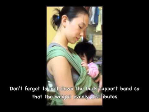 Breastfeeding On The Baby Ktan Baby Carrier Youtube