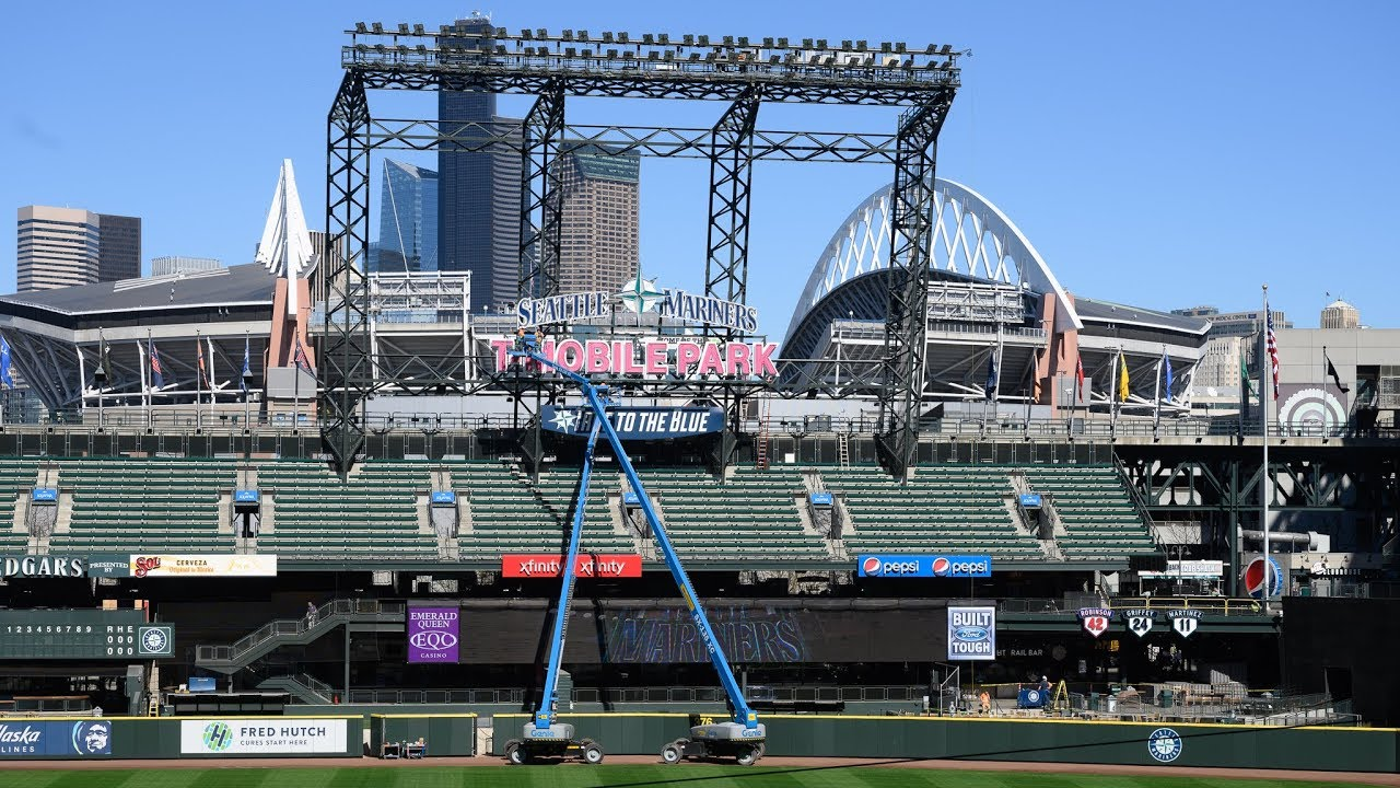 Preview of T-Mobile Park - Home of the Seattle Mariners