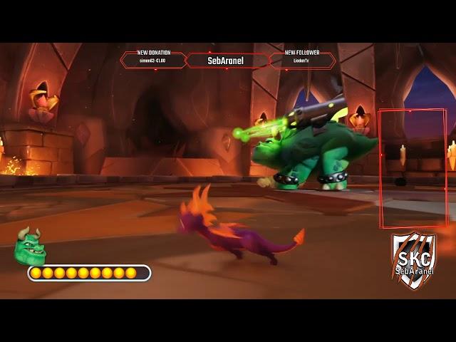 Seb: Spyro 2 on continue notre aventure Ep.7