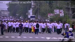 Davao del Norte Participants in INC World Wide Walk