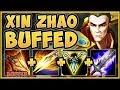 WTF BUFFED INFINITE COMBO XIN ZHAO 100% STUPID! XIN ZHAO SEASON 9 TOP GAMEPLAY! - League of Legends