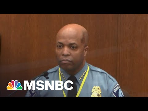 The Significance Of The Minneapolis Police Chief Taking The Stand   Katy Tur   MSNBC