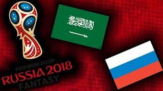 2018 RUSSIA FANTASY VB | OROSZORSZÁG - SZAÚD-ARÁBIA