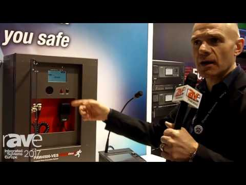 ISE 2017: PASO Introduces PAW4500 Voice Evacuation System