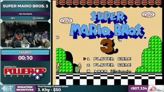 TASBot plays Super Mario Bros 3 (RomHack) by Games Done Quick - SGDQ2016 - Part 173