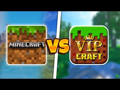MINECRAFT POCKET EDITION VS VIP CRAFT   MCPE ПРОТИВ VIP CRAFT