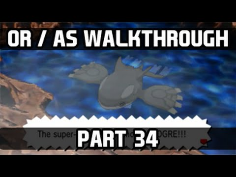 pokemon omega ruby how to get kyogre