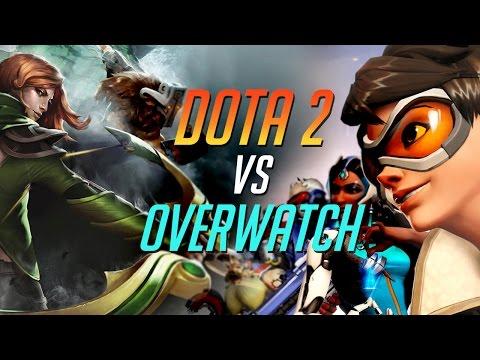 видео: dota 2 vs overwatch - ЗА ЧТО ПЛАТИМ?