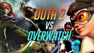 DOTA 2 VS OVERWATCH - ЗА ЧТО ПЛАТИМ