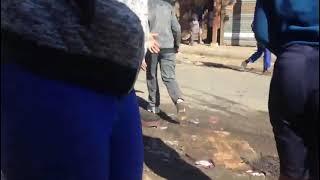 Looting continues at Pan Mall, Alexandra