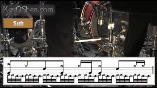 Thomas Lang Crazy Independence | Drum Transcription
