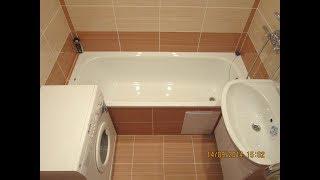 ремонт ванної кімнати. мій приклад. repair of the bathroom with your own hands