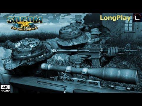 PS2 - SOCOM U.S. Navy SEALs - LongPlay [4K:60fps]