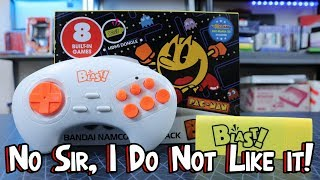 AtGames Bandai Namco Blast Review - 8 Games In 1 for $20! It Stinks!