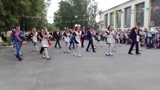 Выпуск 2016 Хотыничской СШ (вальс+флешмоб)