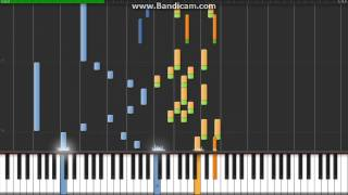 Mario & Luigi Superstar Saga Little Fungi Town Piano Tutorial Synthesia