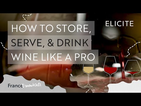 How To Store, Serve & Drink Wine