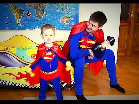 Утро СУПЕРГЕРОЕВ Как живут Супермены супергерои в реальной жизни Real Superheroes