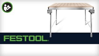 Festool MFT/3 Portable Workbench - Setup and Applications
