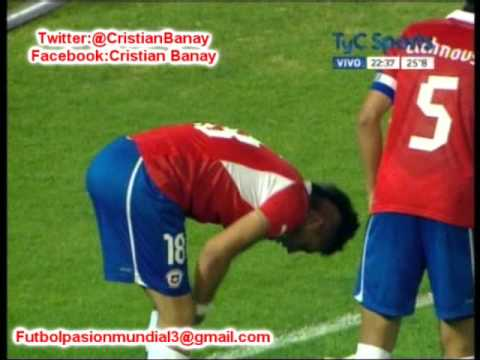 Argentina 0 Chile 1 (Audio ADN Radio Chile)  Sudamericano Sub 20 2013.(9/1/2013)
