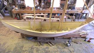 Building A Lowell Surf Dory