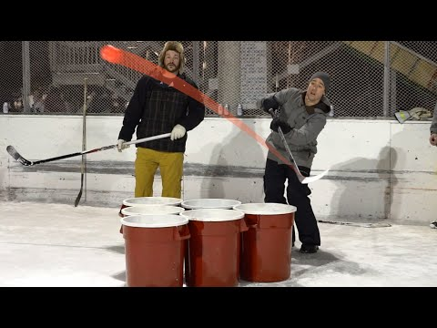 Giant Beer Pong Tournament | Hockey Style