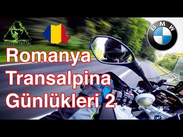 Romanya Transalpina Günlükleri 2, BMW R1200 GSA