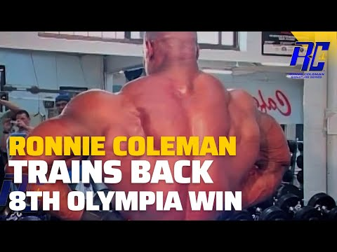 Ronnie Coleman Trains Back After 8th Olympia Win