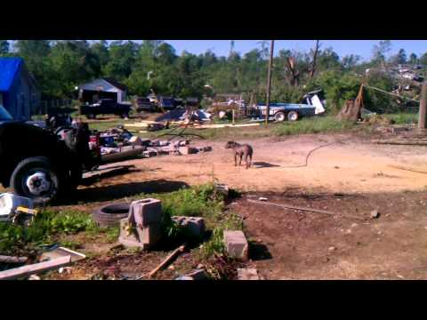 Cleveland TN tornado damage. By Daniel giguere