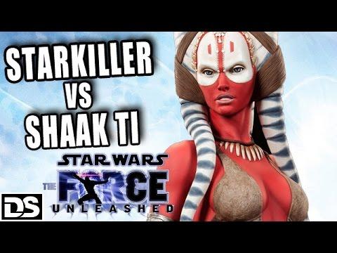 Star Wars The Force Unleashed Deutsch Gameplay German - Starkiller vs Shaak Ti