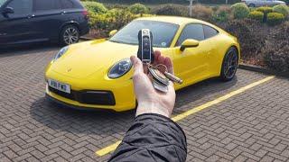 2019 porsche 992 911 carrera 4s in depth exterior and interior tour exhaust