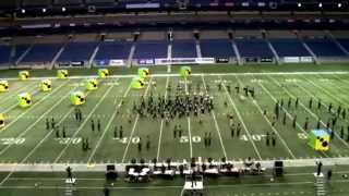"Spring High School Marching Band BOA Prelims 2013 ""No strings attached"""