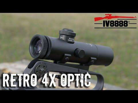 Brownells Retro Colt 4X Optic
