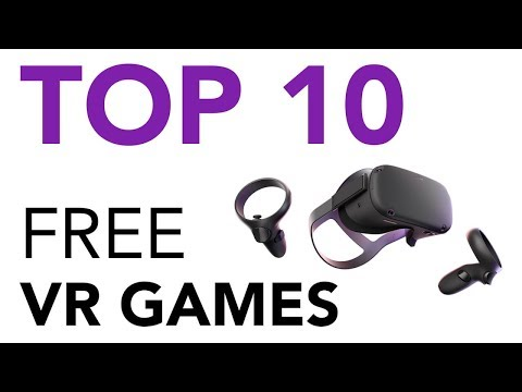 Top 10 Free Oculus Quest VR Games!