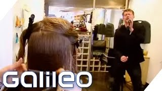 Superreiche beim Friseur   Galileo   ProSieben