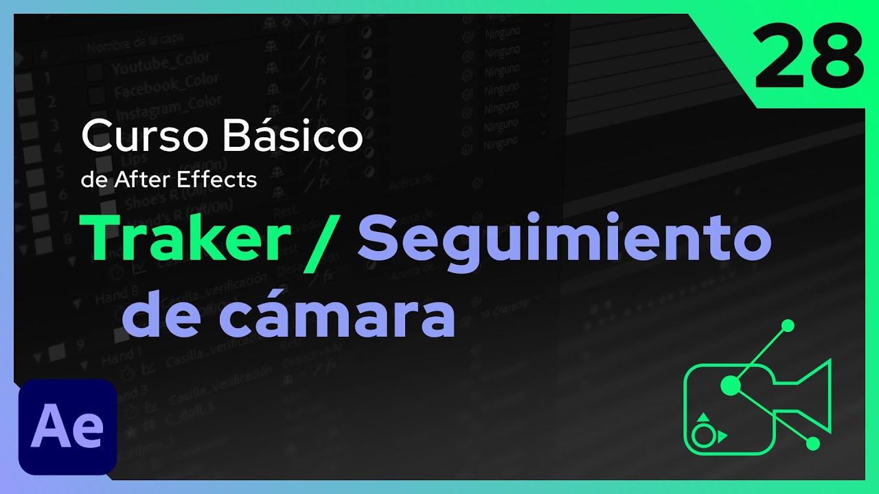 Traker y Seguimiento de Cámara | After Effects - Tutorial
