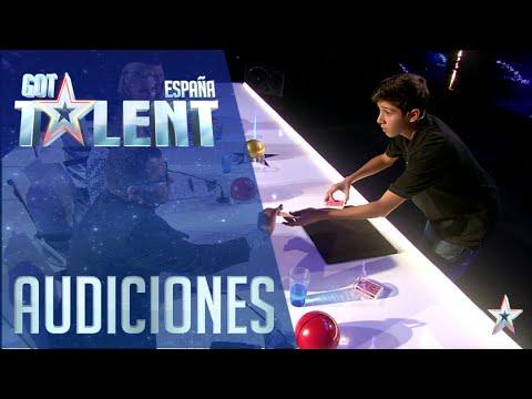 La magia de Manuel | Audiciones 6 | Got Talent España 2016