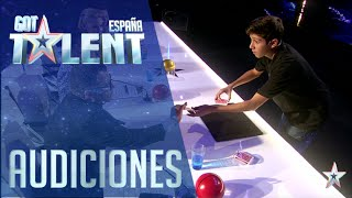 La magia de Manuel | Audiciones 6 | Got Talent España 2016