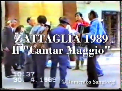 1989 ZATTAGLIA Cantar maggio.