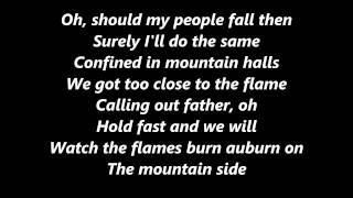 Ed Sheeran I see fire lyrics