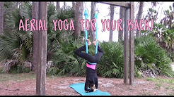 Aerial Yoga Tutorial for Back Relief