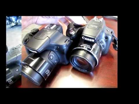 Canon SX60 detailed features review, plus compare to SX50 vs the SX10. Improvements and blunders