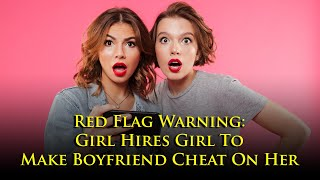 A database of men's info being shared by women, they trick guys into cheating. WTF