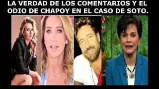 PATI CHAPOY VENGANZA GABRIEL SOTO IRINA BAEVA GERALDINE BAZAN  / ARGUENDE TV