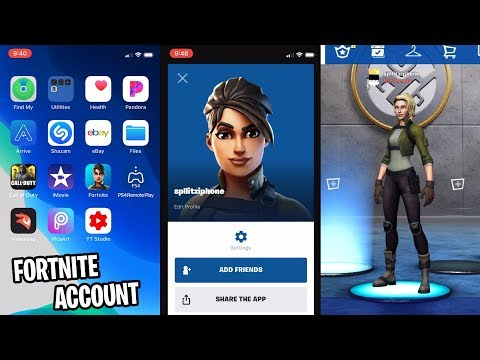 How To Create A FORTNITE ACCOUNT On Your PHONE! (EASY METHOD)