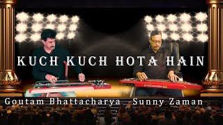 Kuch Kuch Hota Hain || A duet Electric Guitar Cover by GOUTAM BHATTACHARYA and SUNNY ZAMAN