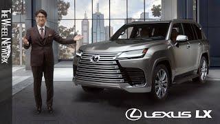 2022 Lexus LX Reveal