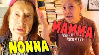 MIA NONNA E MIA MAMMA REAGISCONO AI MIEI CAPELLI ROSA!!